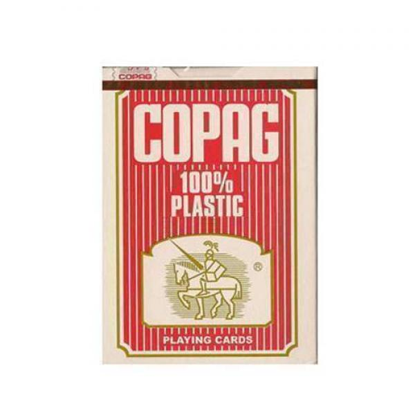 Copag 100% plastic - red back