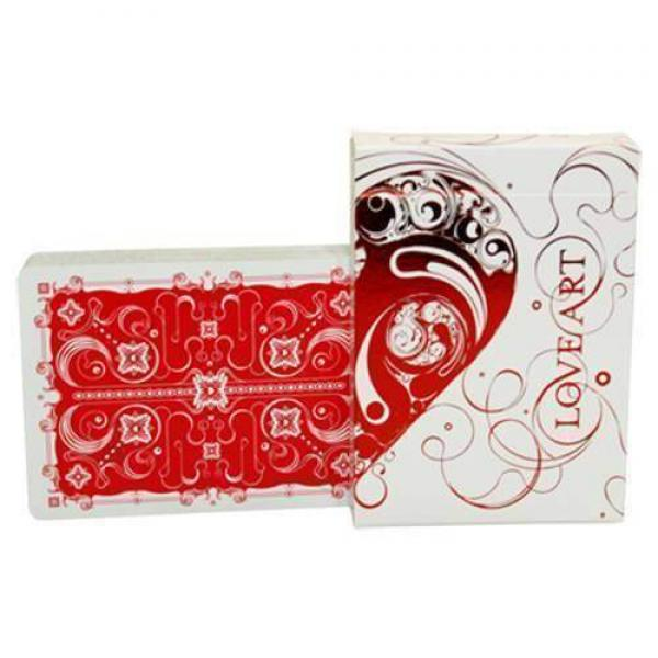 Love Art Deck (Red - Limited Edition) by Bocopo.co...