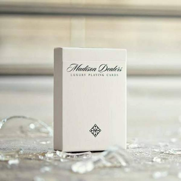 Madison Dealers Marked Deck - Erdnase Green by Ellusionist