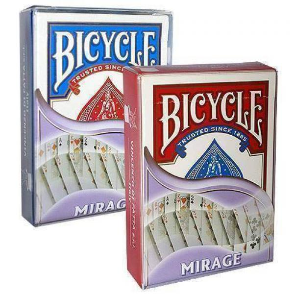 Bicycle Mirage Deck - Red