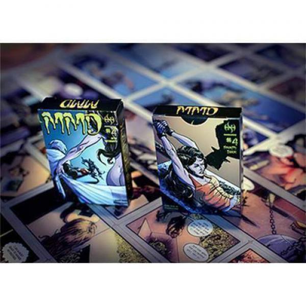 MMD#4 - Magicians Must Die Comic Deck by Handlordz...