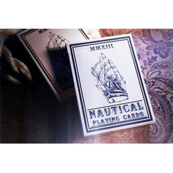Mazzo di carte Nautical Playing Cards (Blue) by Ho...