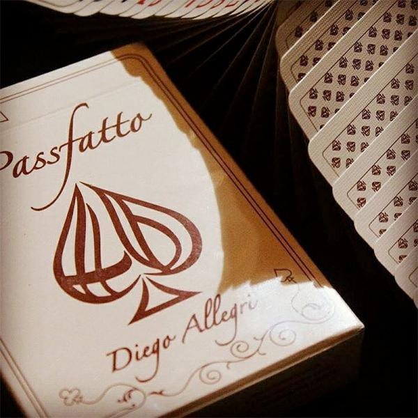 #PassFatto Playing Cards by Diego Allegri