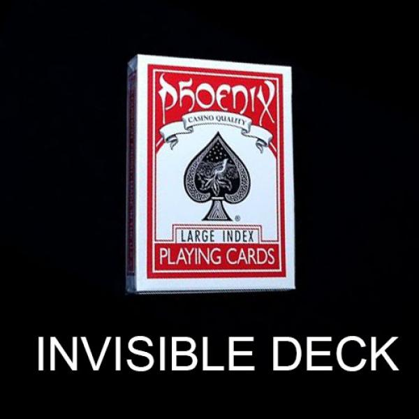 Invisible deck Phoenix Red - Large Index