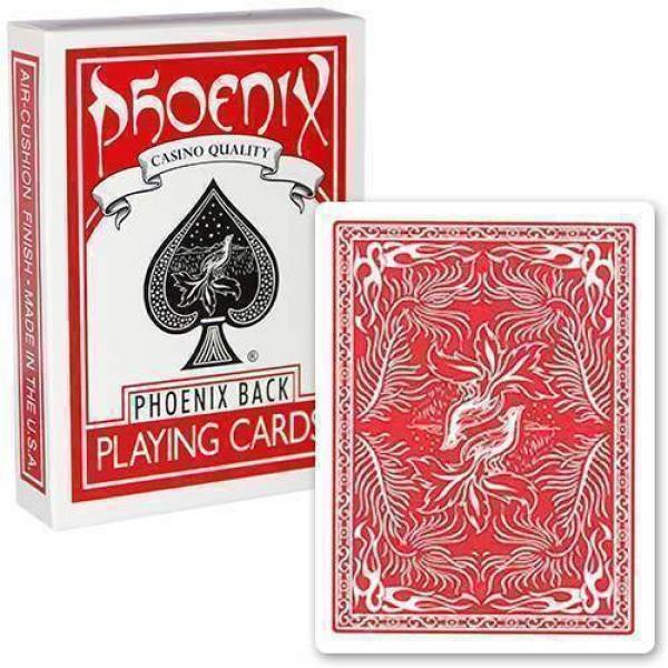 Mazzo di carte Phoenix standard - Rosso