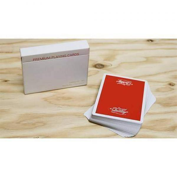 Quality Cardistry 1902 2nd Edition Red Playing Car...