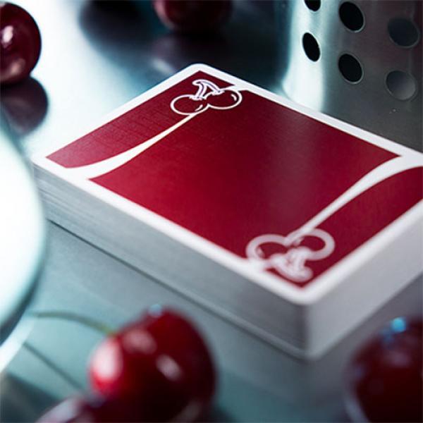 Set Mazzi di Carte Cherry (Reno Red, Casino V3 True Black, Tahoe Blue)