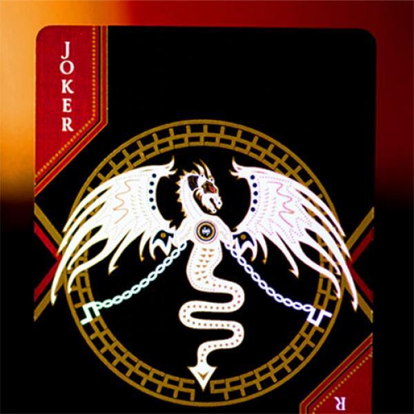 Mazzo di carte Standard Edition Dark Lordz (Black) by De'vo