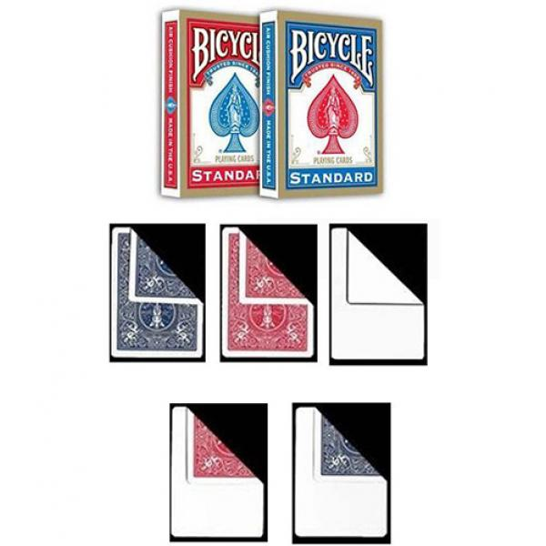 2 Bicycle Standard Index decks + 5 Gaff Cards