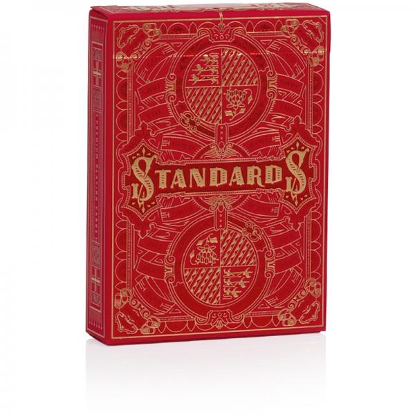 STANDARDS Playing Cards - Red