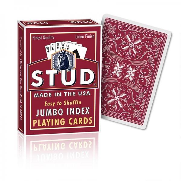 Stud Jumbo index - red back