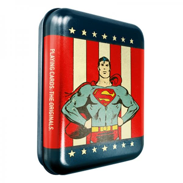 DC Super Heroes - Superman Playing Cards - Tattoo ...