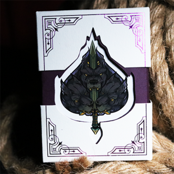 Deluxe Limited Edition Theos Playing Cards (Purple...