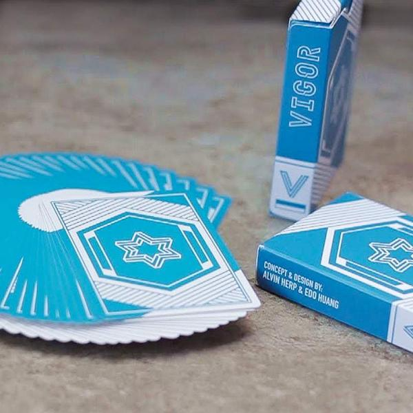 Mazzo di Carte Vigor Playing Cards - Blue Edition