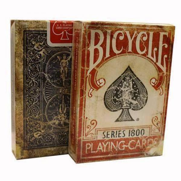 Bicycle - Vintage Series 1800 - Red Back - Marked