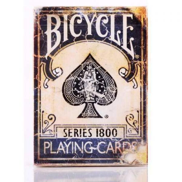 Mazzo di carte Bicycle - Vintage series 1800 - Dor...