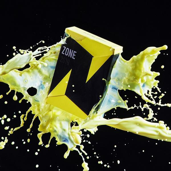 ZONE Playing Cards V2 Yellow by Bocopo