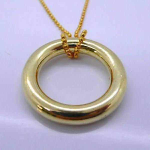 Anello in Catena - colore oro - Ring & Chain
