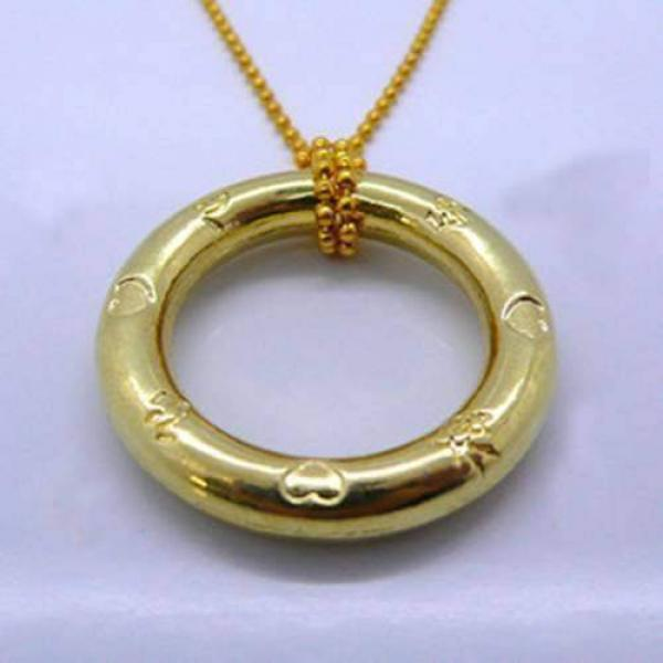 Ring & Chain - Gold - Heart