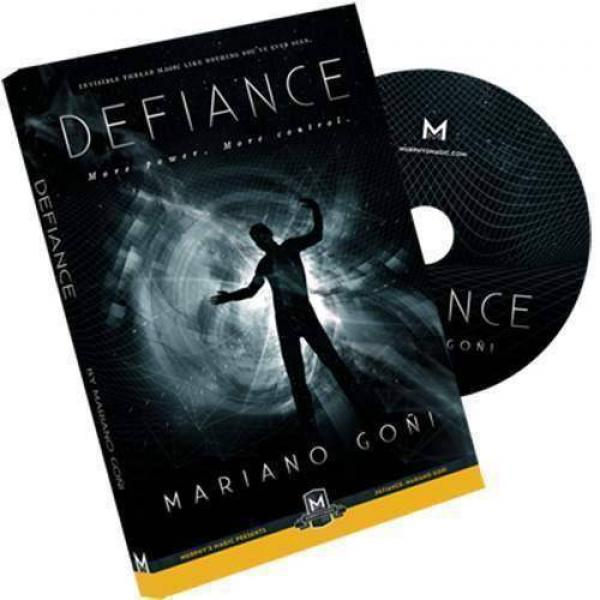 Defiance by Mariano Goni - DVD and Gimmick