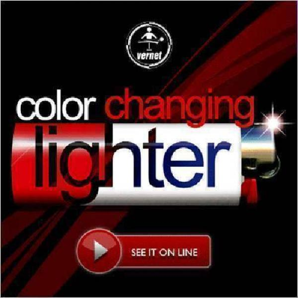 Fantasio Color Changing Lighter by Vernet Magic