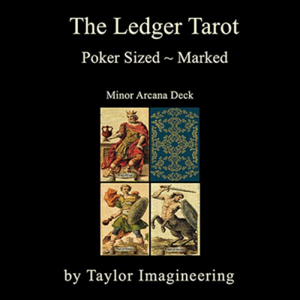 Ledger Minor Arcana Deck Poker Sized (1 Deck and O...