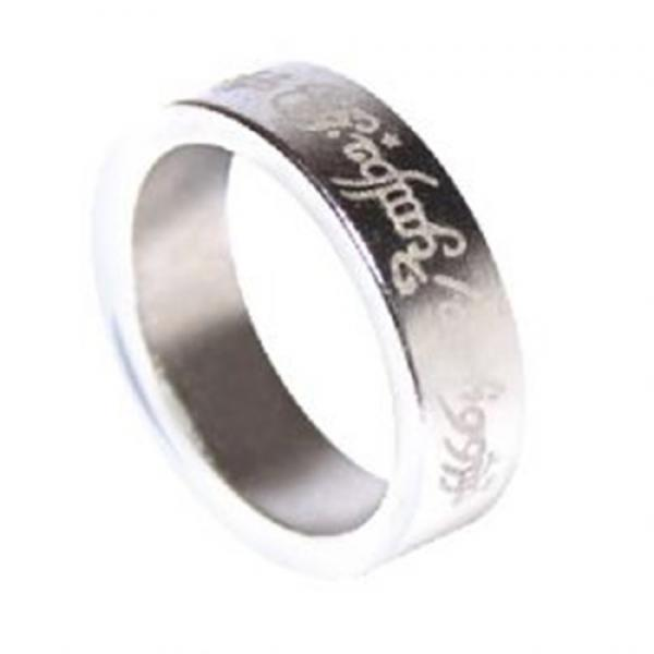 Magnetic Ring - Silver - Letters - Medium (20 mm)