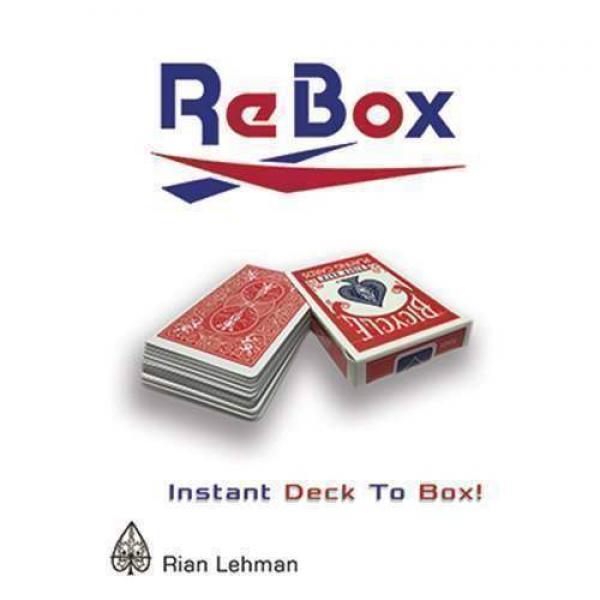 Re Box by Rian Lehman (DVD & Gimmick)
