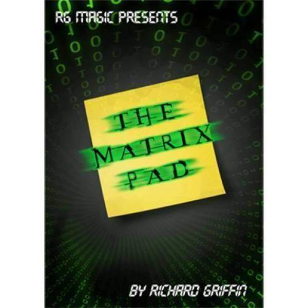 The Matrix Pad (DVD & Gimmicks) by Richard Griffin