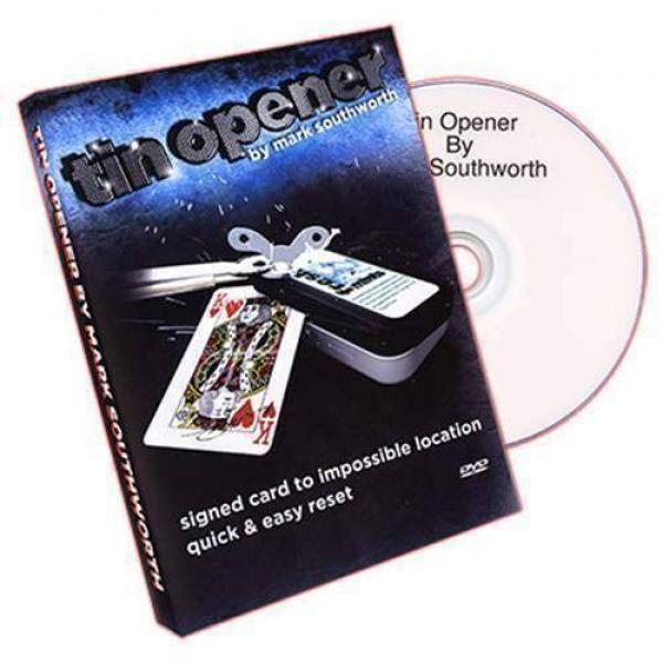 Tin Opener (Tin and DVD) by Mark Southworth - original item
