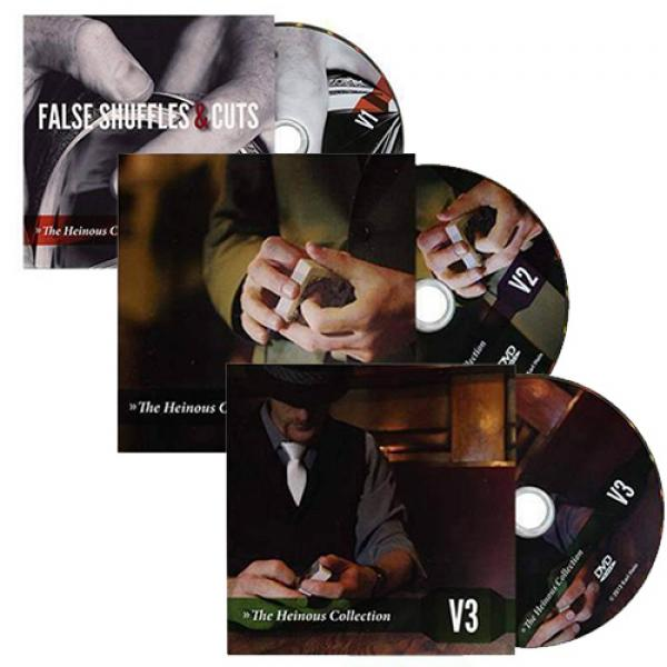 The Heinous Collection 3 DVD Set by Karl Hein
