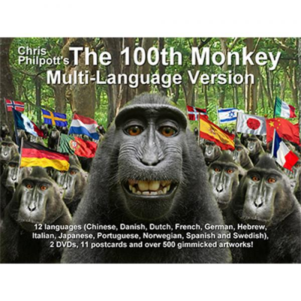 100th Monkey Multi-Language(2 DVD Set with Gimmicks) by Chris Philpott