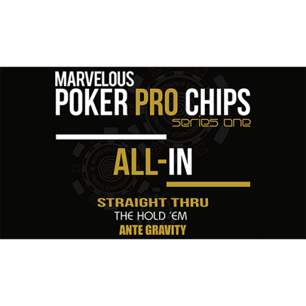 Marvelous Poker Pro Chips All In -Series One (Gimm...