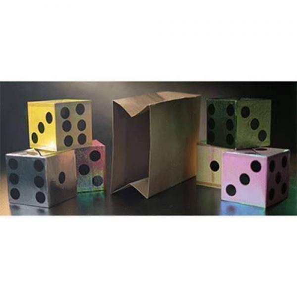 Appearing Dice from Empty Bag by Tora Magic - Stag...