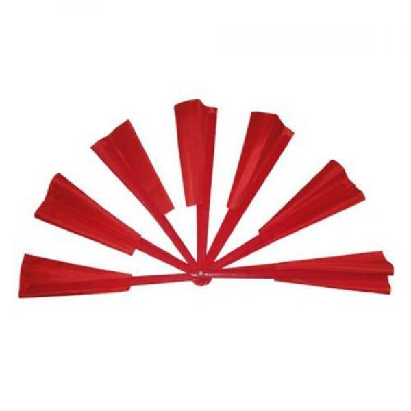 Broken and Restored Fan (Red Deluxe)