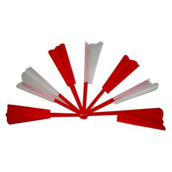 Broken and Restored Fan (Red and White,Deluxe)