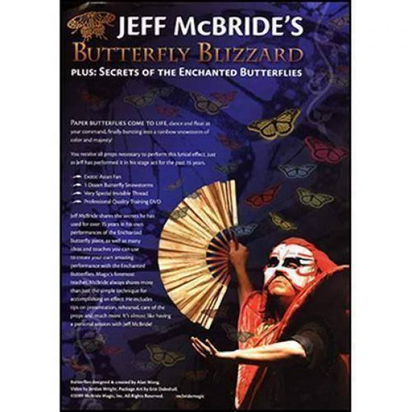 Butterfly Blizzard (Props and DVD) by Jeff McBride...