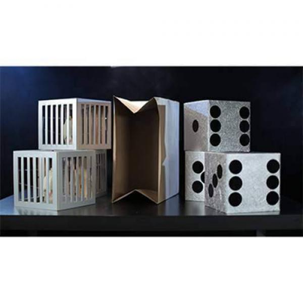Cages and Dice from Paper Bag by Tora Magic