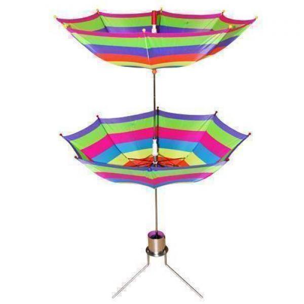 Cane to Twin Umbrella
