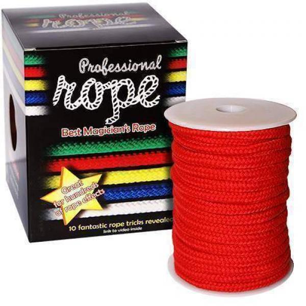 Professional Rope - 15 mt. - Red (100% cotton)