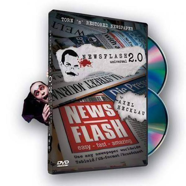 News Flash 2.0 (universal) - Gimmicks e 2 DVD