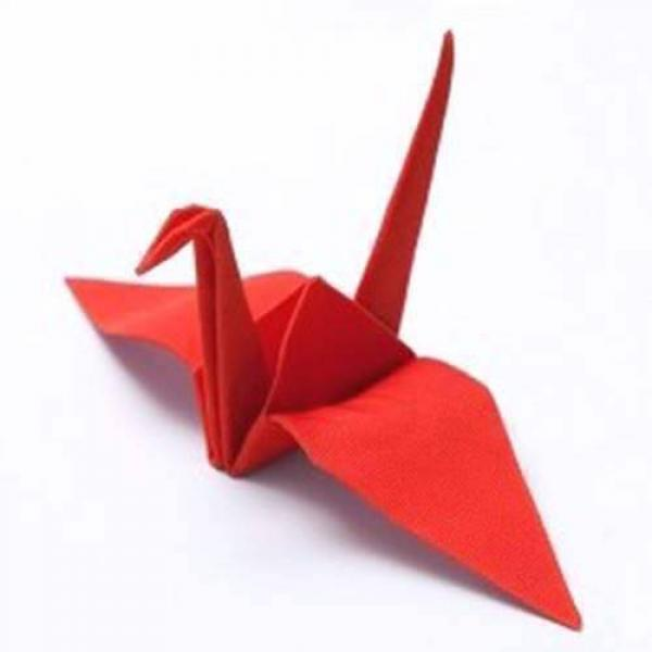 Origamagic (Origami Magic) - Crane RED