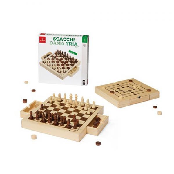 Chess Draughts Morris Basic