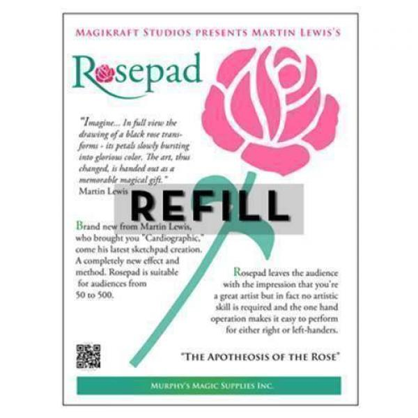 The Rose Pad REFILL by Martin Lewis