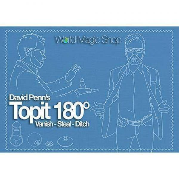 Topit 180 Left Handed (Gimmick and Online Instruct...