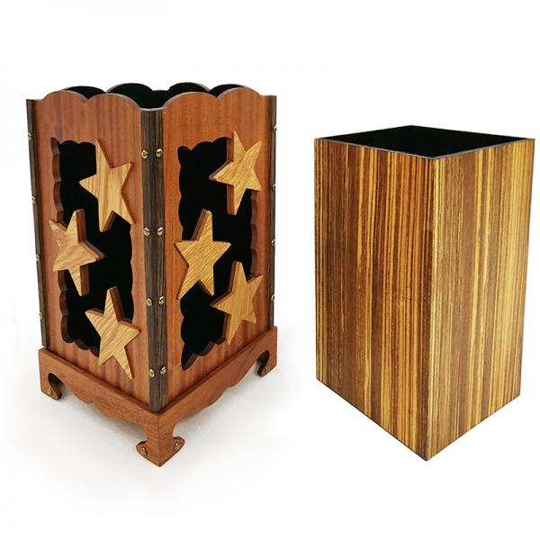 Tora Starry Square Box Wooden
