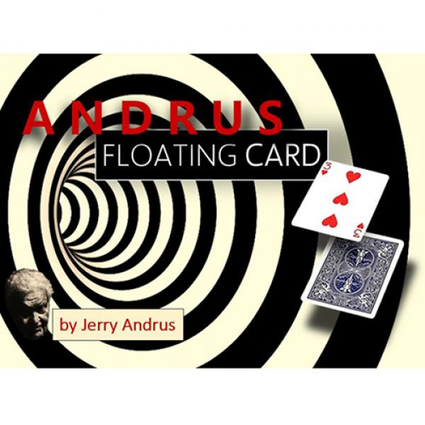 Andrus Floating Card Blue (Gimmicks and Online Ins...