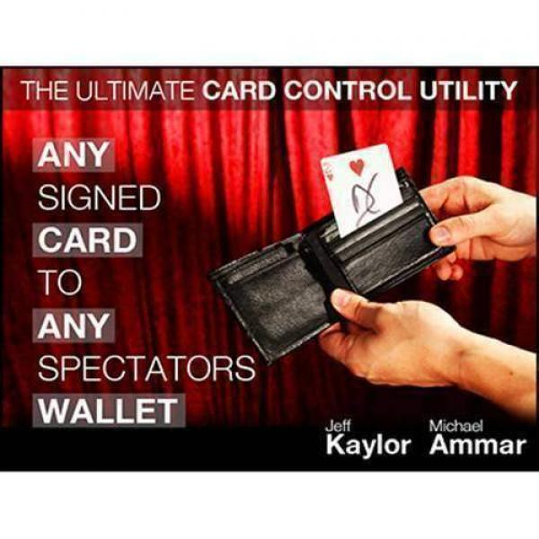 Any Card to Any Spectator's Wallet Black (DVD...