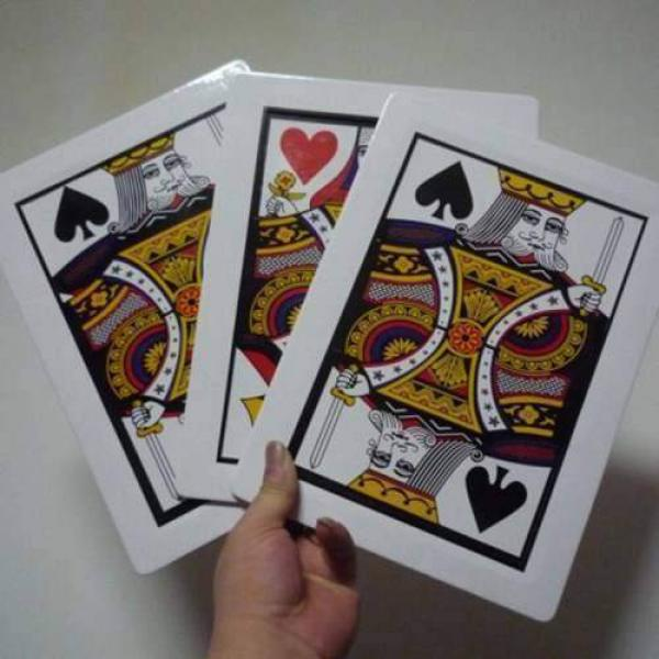 Automatic Three Card Monte - Giant (28x21cm)
