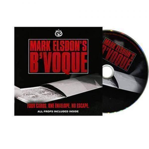 B'Voque by Mark Elsdon (DVD & Gimmick)